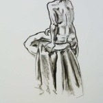 """Figure Drawing"" Charcoal on Paper, 2009"
